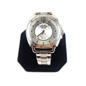 Authentic Coach Watch Silver Model 0606